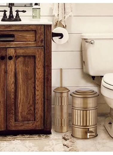 The Mia Tuvalet Fırçası - Gold Altın